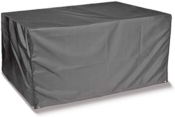 Image of Thunder Grey Rectangular 6 Seater Table Only Cover