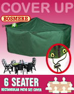 Small Image of Rectangular Furniture Cover (6 Seater Set) - Bosmere C530