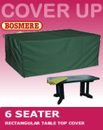 Small Image of Rectangular Table Cover (6 Seater Table) - Bosmere C555