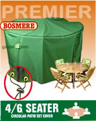 Small Image of Circular Furniture Cover (4 to 6 Seater Set) - Bosmere P020