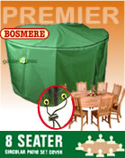 Small Image of Circular Furniture Cover (8 Seater Set) - Bosmere P025