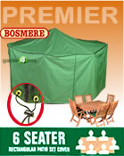 Small Image of Rectangular Furniture Cover (6 Seater Set) - Bosmere P030