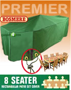 Small Image of Rectangular Furniture Cover (8 Seater Set) - Bosmere P035