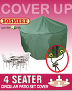 Circular Furniture Cover (4 Seater Set) - Bosmere C515
