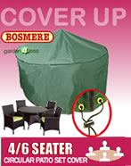 Circular Furniture Cover (4 to 6 Seater) - Bosmere C520