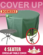 Small Image of Circular Table Cover (4 Seater) - Bosmere C540
