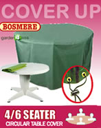 Small Image of Circular Table Cover (4-6 seater) - Bosmere C545