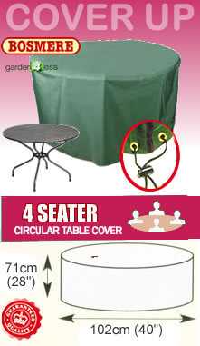 Image of Circular Table Cover (4 Seater) - Bosmere C540