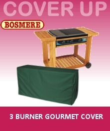 Image of Bosmere 3 Burner Gourmet BBQ Cover - C725