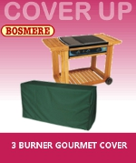 Small Image of Bosmere 3 Burner Gourmet BBQ Cover - C725
