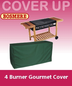 Image of Bosmere 4 Burner Gourmet BBQ Cover - C730