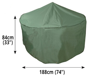 Image of Circular Furniture Cover (4 to 6 Seater) - Bosmere C520