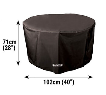 Image of Bosmere Protector 6000 Circular Table Cover 4 Seat - D540