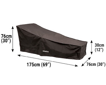 Image of Bosmere Protector 6000 Sun Lounger Cover - D565