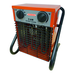 Small Image of Bosmere Professional Greenhouse Fan Heater - 1.5-3kw