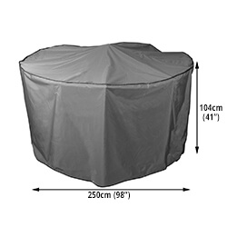 Round Garden Furniture Set Covers