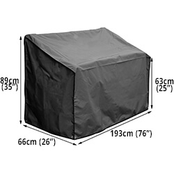 Small Image of Bosmere Protector 7000 Premier Bench Seat Cover  - 4 Seat
