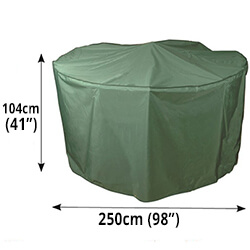 Small Image of Circular Furniture Cover (6 to 8 Seater) - Bosmere C523