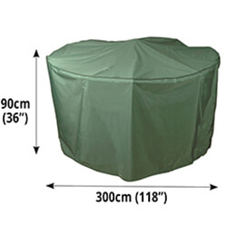 Small Image of Circular Furniture Cover (8 Seater) - Bosmere C524