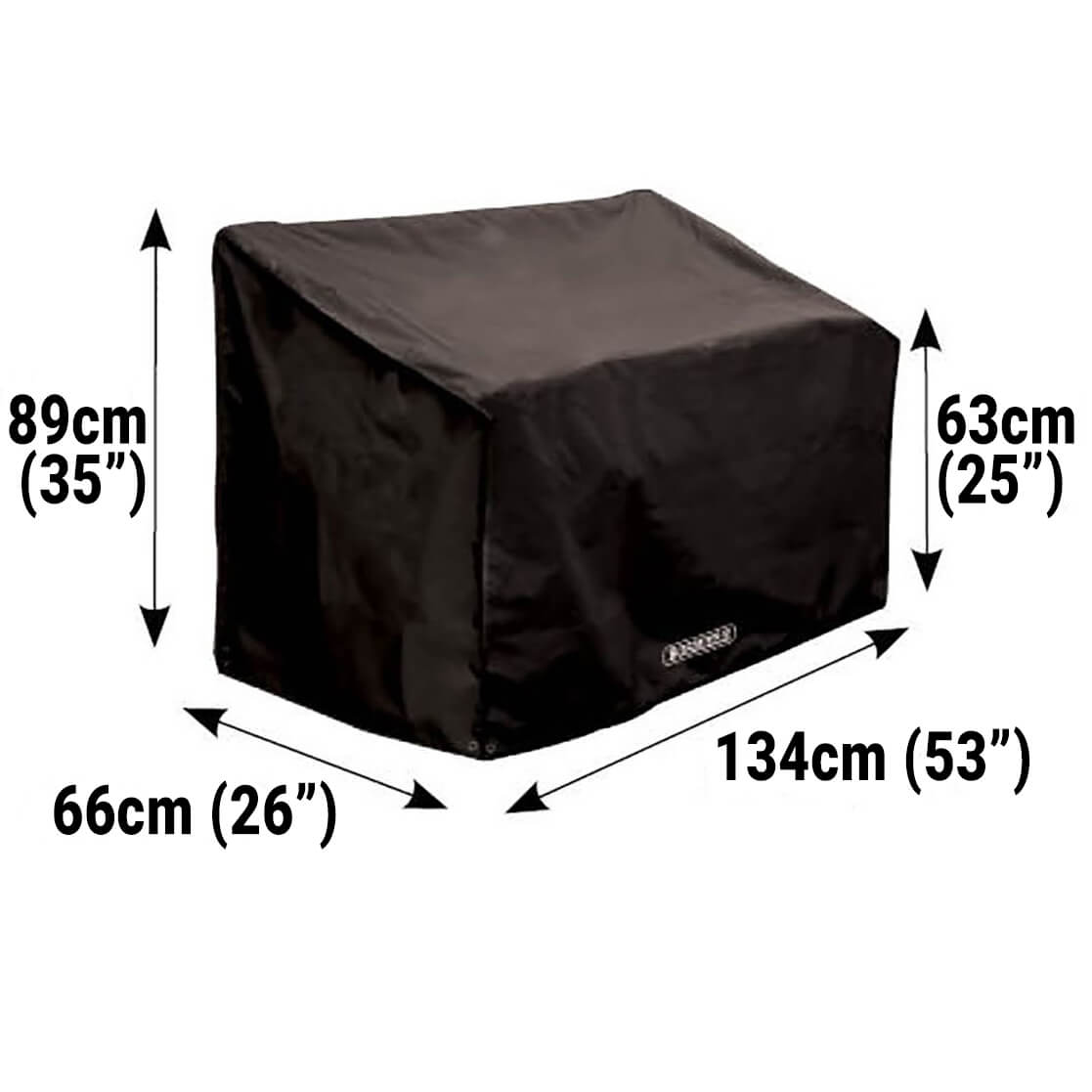 Small Image of Bosmere Protector 6000 2 Seat Bench Cover - D605