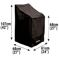Small Image of Bosmere Protector 6000 Stacking/Reclining Chair Cover - D570