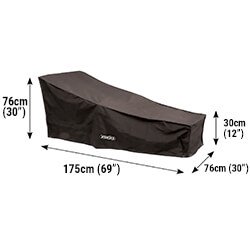 Small Image of Bosmere Protector 6000 Sun Lounger Cover - D565