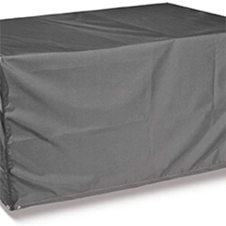Small Image of Thunder Grey Rectangular 6 Seater Table Only Cover