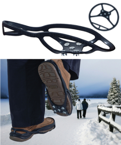 Image of Ice and Snow Shoe Grippers - Small/Medium