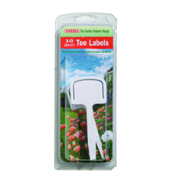 Image of Bosmere Plastic Tee Labels - 10 Pack