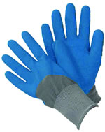 Small Image of Briers All Seasons Gardener Gloves - Large - Blue