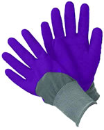 Small Image of Briers All Seasons Gardener Gloves - Medium - Purple