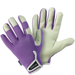Small Image of Briers Lady Gardener Gloves - Lavender