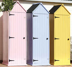 Small Image of Brighton Collection Tall Garden Shed