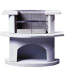 Small Image of Buschbeck Masonry Barbecue - Venedig Grill Bar