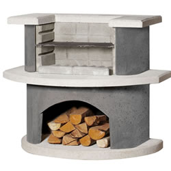 Small Image of Buschbeck Luzern Grill Bar Masonry Barbecue