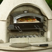 Extra image of Buschbeck Universal Pizza Insert for Buschbeck BBQs