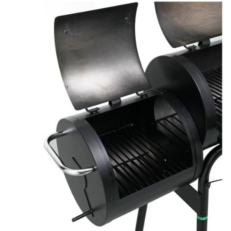 Big Horn Grill >> Offset Barbecue Pit Smoker - £129.99 | Garden4Less UK Shop