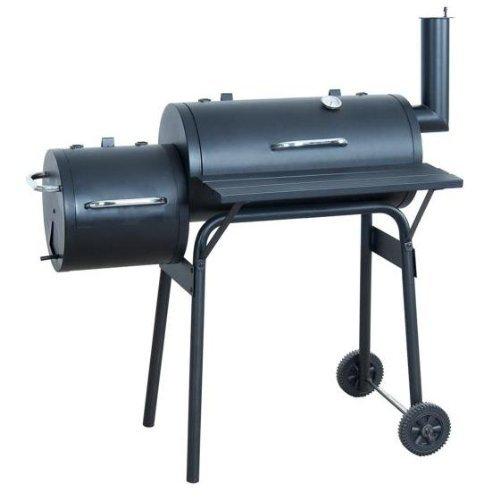 offset barbecue pit smoker garden4less uk shop. Black Bedroom Furniture Sets. Home Design Ideas