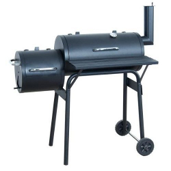 Image of Offset Barbecue Pit Smoker