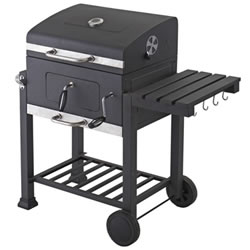 Small Image of Toronto Charcoal BBQ Grill