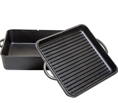 Image of Camp Chef Cast Iron Square Dutch Oven