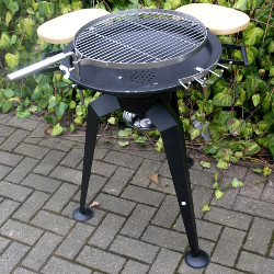 Image of Shallow Charcoal Barbecue with Accessories - DC-FG5600