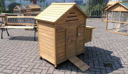 Freestanding Chicken Coop With Nest Box 163 84