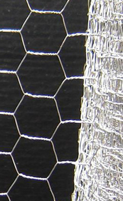 Image of 13mm Galvanised Chicken Wire Netting - 10m x 90cm