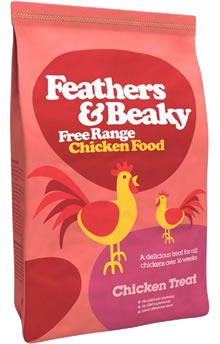 Image of Feathers and Beaky Free Range Chicken Treat -5kg