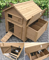 Superior Mosley Freestanding Chicken Coop with Nestbox