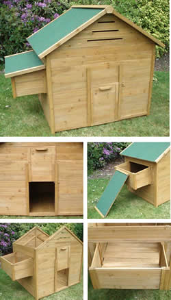 Image of Basic Free Standing Chicken Coop