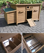 Superior Large Ridgway Chicken Coop with Nest Box