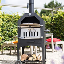 Outdoor Wood Burning Pizza Ovens By La Hacienda