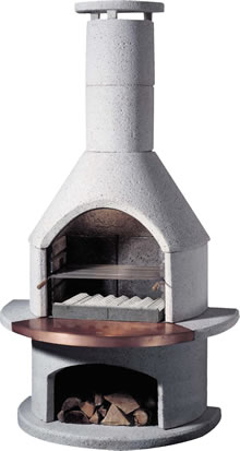 Image of Buschbeck Masonry Barbecue - Rondo